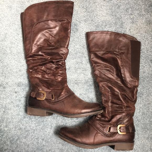 BareTraps Shoes - Women s Bare Traps Sheridan Wide Calf Boot 119a1ab68